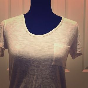 Madewell T-Shirt With Pocket. Ivory size Small